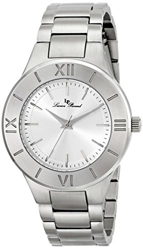 Lucien Piccard 12922-22S 39mm Silver Steel Bracelet & Case Sapphire Crystal Women's Watch