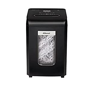 Rexel Promax 18 Sheet Manual Strip Cut Shredder for Small Office Use (Up To 10 Users), 38L Removable Bin, Extended Run Time, Includes Shredder Oil Sheets, Black, Promax RSS1838, 2100888A