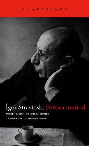 Poética Musical (El Acantilado) por Igor Stravinski
