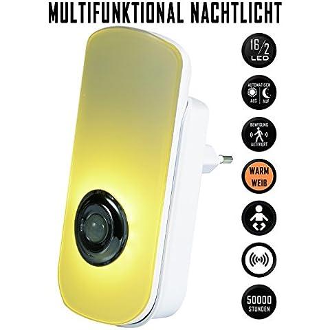 Emotionlite 5 in 1 Multifunzione Luce Notturna LED con Sensore