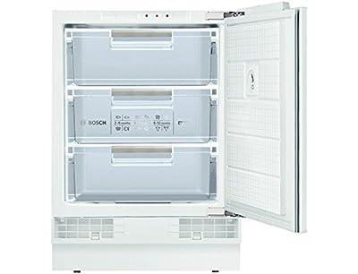Bosch GUD15A50GB Integrated Vertical 98L + White-Freezer (Vertical, 98l, 12kg/24h, sn-st, A +, White)