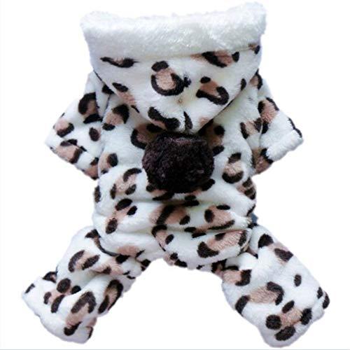 Hundekleidung Winter Warm Soft Komfort-kleine Kostüm Chihuahua Dog Kleidung kleine Welpen-Hundekleidung Haustierkuppen (Peter Hase Baby Kostüm)