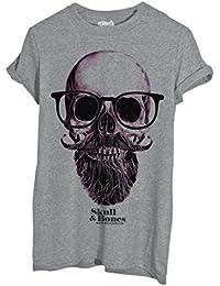 T-Shirt Teschio Nerd Hipster - Mush By Mush Dress Your Style