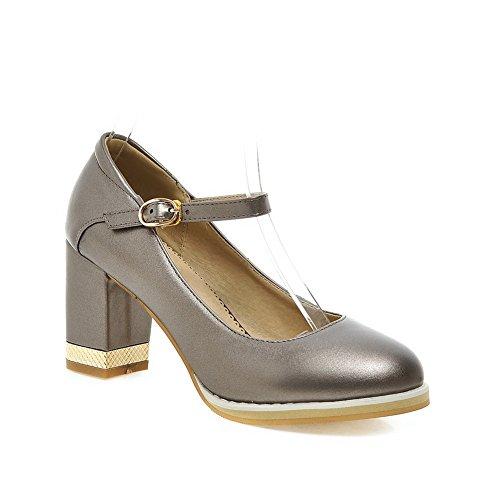 Adee Mesdames Princesse polyuréthane pumps-shoes Gris