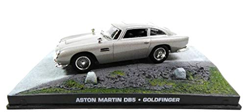 James Bond Aston Martin DB5 007 Goldfinger (Wheel Blades) 1/43 (KY01)