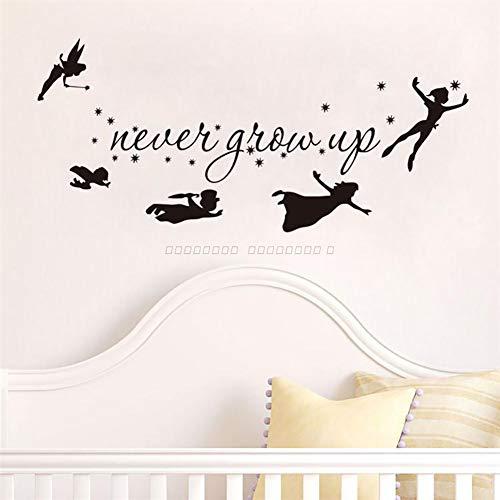 Tinkerbell Star Peter Pan Wand Aufkleber Kinder Baby Schlafzimmer Vinyl Aufkleber Zimmer Dekor