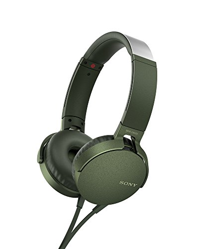 Sony MDR-XB550AP Extrabass Headphones - Green Best Price and Cheapest