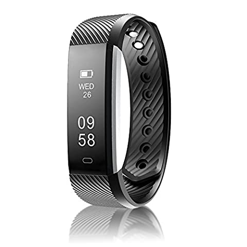 Fitness Tracker Watch - Pedometer / Activity Tracker / Step Counter / Sport Tracker / Sleep Monitor / Calorie Counter - Best Quality - UK Seller. Stylish Sleek Minimalist Design - OLED Touch Screen Display. 7 Day Battery Life: Perfect For An Active Lifestyle Including Sports, Runners and Gym Goers. Waterproof For Outdoor Activities. Phone Notifications - Compatible With Android and iPhone.
