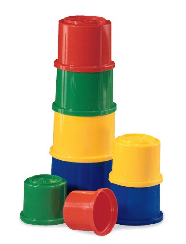 Image of Fisher Price Brilliant Basics 75601 Fisher Price Building Beakers Nesting Cups