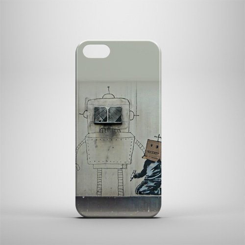 Banksy-Robot iPhone 5/5S