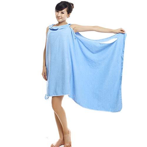 Bettwäsche Microfiber Badetücher Magic Quick Dry Saugfähiges Tragbares Handtuch Für Frau Dame 150x80cm Baden Beach Wrap Rock,Blue