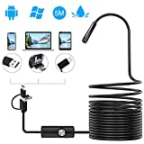 PiAEK Endoscope Inspection HD Camera 3 in 1 Endoscope Android USB/Micro USB/Type-C 2.0