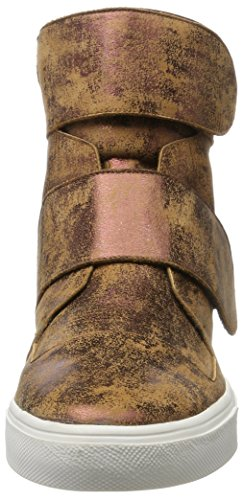 Laurèl Damen Sneaker Hohe Braun (Kupfer Antik)