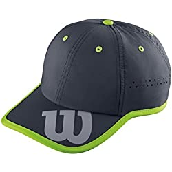 Wilson Baseball Hat Co - Gorra unisex, color negro, talla OSFA