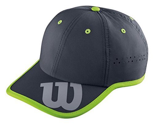 Wilson Baseball Cappello, Nero (Coal), Osfa