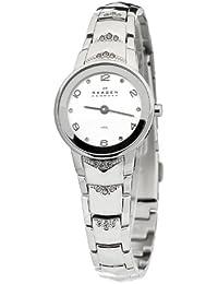Skagen Damen-Armbanduhr XS Analog Quarz Edelstahl 812XSSXW