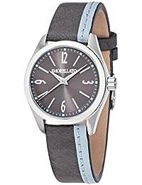 Morellato - R0151132504 - Montre Femme - Quartz - Analogique - Bracelet cuir gris