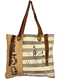 Priti Striped Design Handbag Bag Travel Bag Tote Bag New Stylish Handbags For Women