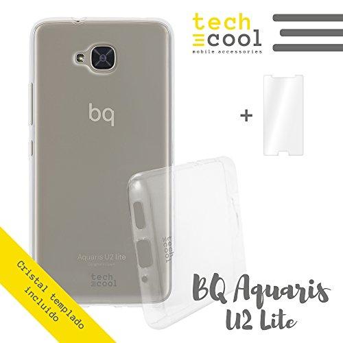 Mejor Funda Silicona Transparente para BQ Aquaris U2 Lite