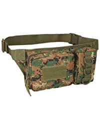 Generic Outdoor Sports Waist Bag 3P Molle Camouflage Phone Bag Utility Pack Pouch Camping Hiking - B07FQRXMH2