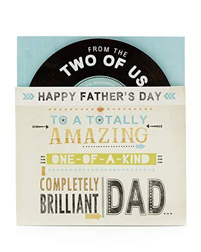 Biglietto per festa del papà, da entrambi, regalo per lui, festa del papà, biglietto regalo.