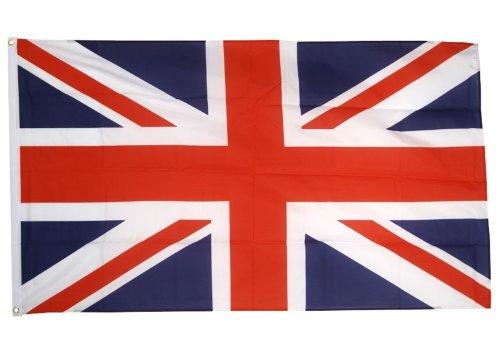 Grossbritannien UK Vereinigtes Königreich Union Jack-Flagge 5ft x 3ft (Land Dress Fancy)