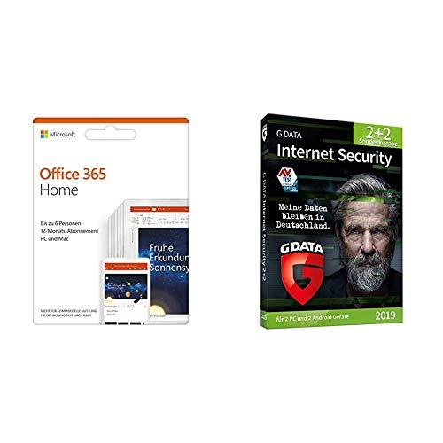 Microsoft Office 365 Home multilingual + Gdata Internet gebraucht kaufen  Wird an jeden Ort in Deutschland