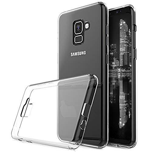 Klar Case für Samsung Galaxy A5 A8 (2018)   TPU Hülle   Silikon Cover  