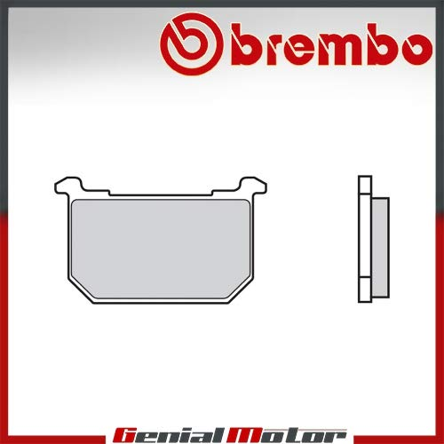 Pastiglie Brembo Freno Posteriori 07KA06.08 per Z E 750 1980 > 1981