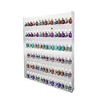 PC3721® High Gloss Acrylic Wall Mounted Nail Polish Rack Display