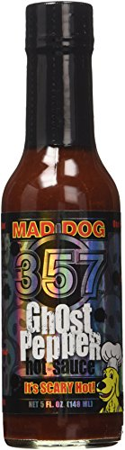 Ashleyfood - Mad Dog 357 Ghost Pepper Chili Sauce - 148ml - Ghost ' Pepper