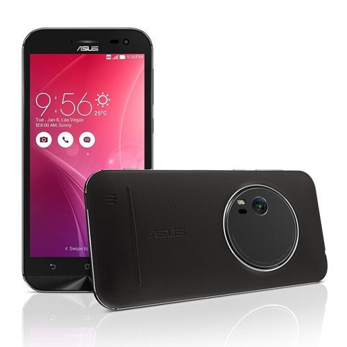 ASUS Zenfone Zoom Nero 64 GB 4G/LTE Display 5.5 Full HD Slot Micro SD Fotocamera 13 Mpx Android Italia