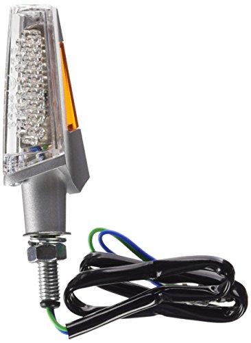 Preisvergleich Produktbild Puig 4824D LED Lanza Model im Aluminium Plastikgehäuse mit transparenten Blinkerglas