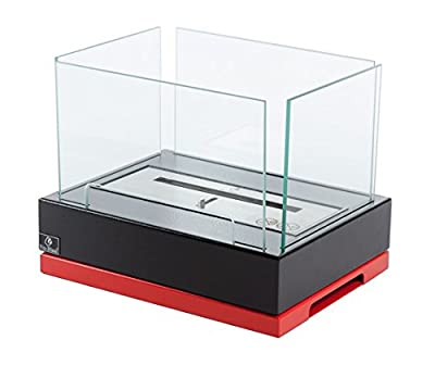 Bio-Blaze BB-LIS-R Tabletop Bioethanol Fireplace Lisboa Red