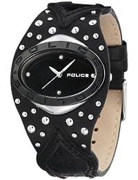Police Vamp P11600MST-02 - Reloj de mujer de cuarzo, correa de piel color negro