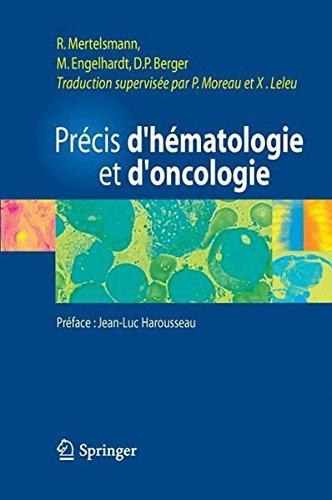 Précis d'hématologie et d'oncologie par Roland Merthelsmann