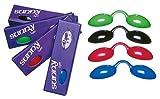 UV Schutzbrille Farbe: rot - Solariumbrille