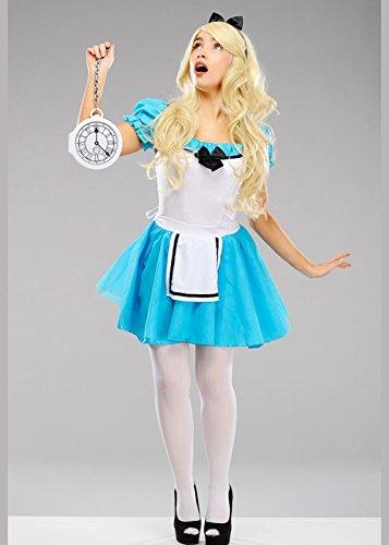 zauberte Alice im Wunderland Kostüm XL (UK 14-16) (Niedliche Alice Im Wunderland Kostüm)
