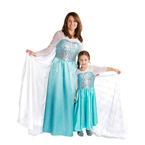 La reine des neiges costume robe elsa reine des neiges - Robe reine des glaces ...