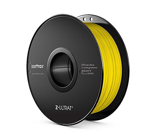 Zortrax 5902280820277 Z-ULTRAT Filament pour Imprimante 3D, Jaune fluo