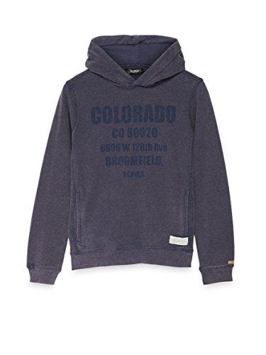 Bay City Textilhandels GmbH COLORADO DENIM Baby-Jungen Kapuzenpullover , Blau (Nightshadow 6073), 116 (Herstellergröße: 110/116)