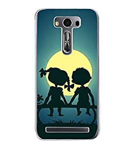 Sunset 2D Hard Polycarbonate Designer Back Case Cover for Asus Zenfone 2 Laser ZE500KL (5 INCHES)