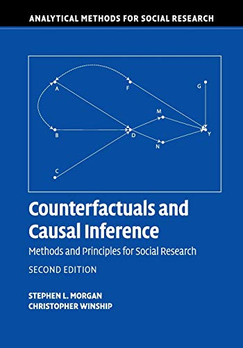 Counterfactuals and Causal Inference 2nd Edition (Analytical Methods for Social Research)