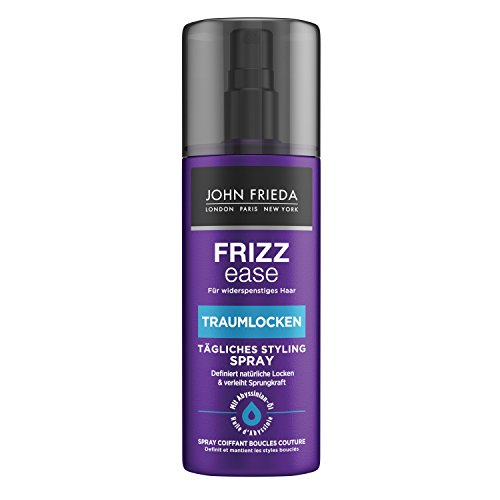 John Frieda Frizz Ease Traumlocken Tägliches Styling Spray - 2er Pack (2x 200 ml) - verleiht natürlichen Locken Form, Elastizität und Sprungkraft