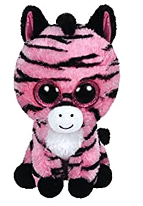 TY - Zoey, Peluche Zebra, 15 cm, Surtido: colores aleatorios