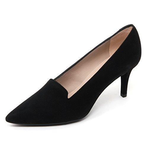 B7692 decollete donna UNISA KITE scarpa nero shoe woman Nero