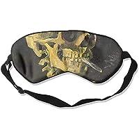 Sleep Eye Mask Skull Cigarette Lightweight Soft Blindfold Adjustable Head Strap Eyeshade Travel Eyepatch E9 preisvergleich bei billige-tabletten.eu