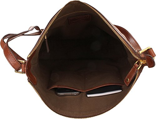 The Bridge Story Donna borsa a tracolla pelle 30 cm Braun