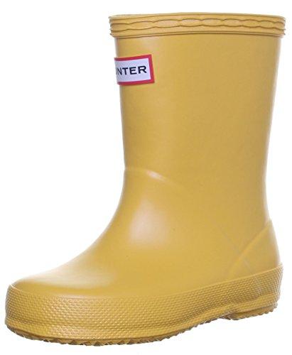 Hunter Bottes en caoutchouc Wellington Bottes en caoutchouc pour enfant premier Jaune - Yellow P01