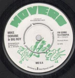 """I'M GOING TO ETHIOPIA/IS THIS THE WAY 7 INCH (7"""" 45) UK MOVERS 1976"""